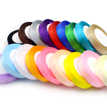 1roll/lot(25yards/roll) 25mm Silk Satin Ribbon For Wedding party cake Gift Decoration DIY Craft Wrapping Supplies 040007112(25)