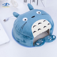 [HFSECURITY] Winter Warm Mouse Pad USB Port with Wristguard Thick Cartoon Hand Warmer Heated Mouse Mat
