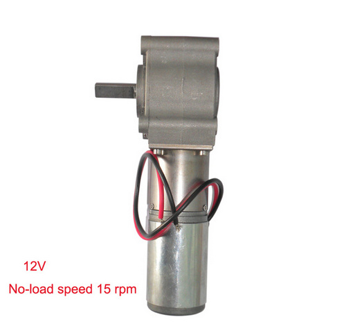 No-load speed 15 rpm and 12 voltage dc gear motor 39ZYJ/15-G<br><br>Aliexpress