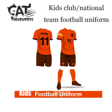 Kids boys sport sets 2017 summer children clothes sets boys short sleeve football uniform training clothes sets