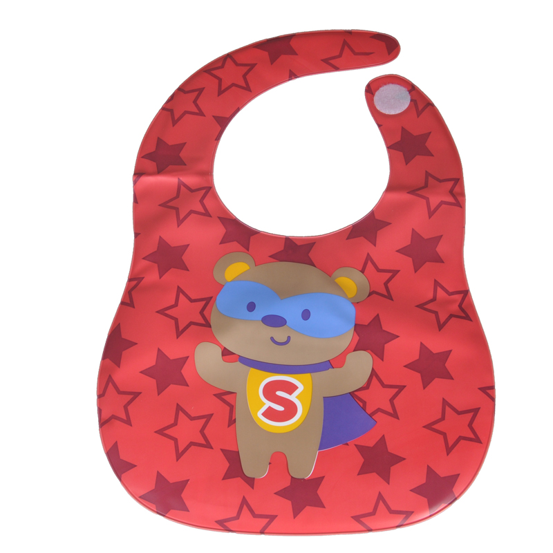2017 New Design Mother nest Baby Bibs Bandana  Waterproof Newborn Apron for Children Saliva Scarf Kids Plastic baberos bebes (2)