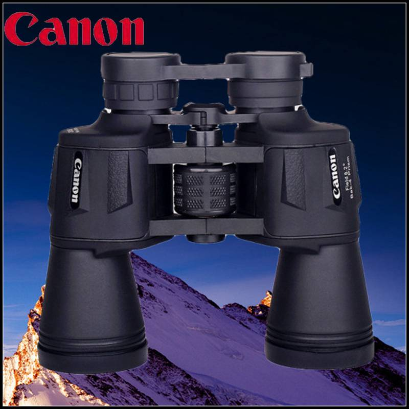 Canon 20X50 Binoculars High quality HD Wide-angle Central Zoom Hunting Telescope Tourism Optical Outdoor Sports Eyepiece<br><br>Aliexpress