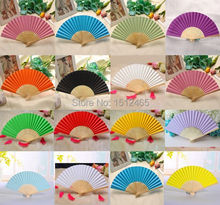 Free shipping,Wholesale 50pcs/lot Folding Elegant Paper Hand Fan Wedding&Party Decoration Favors 21cm  HS08