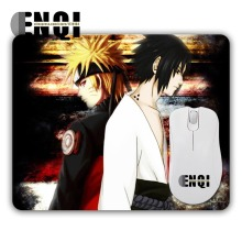 Hot models Cartoon animation Naruto Sasuke Background pattern high quality Game Optics Animation Rectangular Mini Mouse Pads(China)