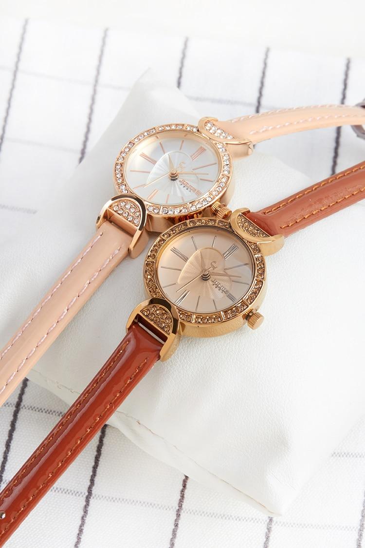 Lady Womens Watch Japan Quartz Fashion Fine Hours Clock Leather Billstone Morgentau Plus 2 Winder Mahogany Htb1kcxxrpxxxxc3xxxxq6xxfxxxj