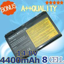 8 cells Battery BATCL50L BATCL50L4 For Acer Aspire 9010 9100 9140LM 9500 TravelMate 2350 2353 2353LC 2353LM 2354 2354LC 2355LC