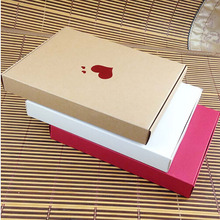 Wholesale Red/Brown/White European Creative Candy Box Wedding Romantic Cake Paper Box 4 Colors Sweet Gift Kraft Paper Case(China)