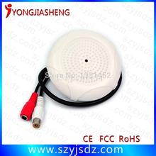 Free shipping Sound pickup CCTV Audio Microphone up to 150 square meters