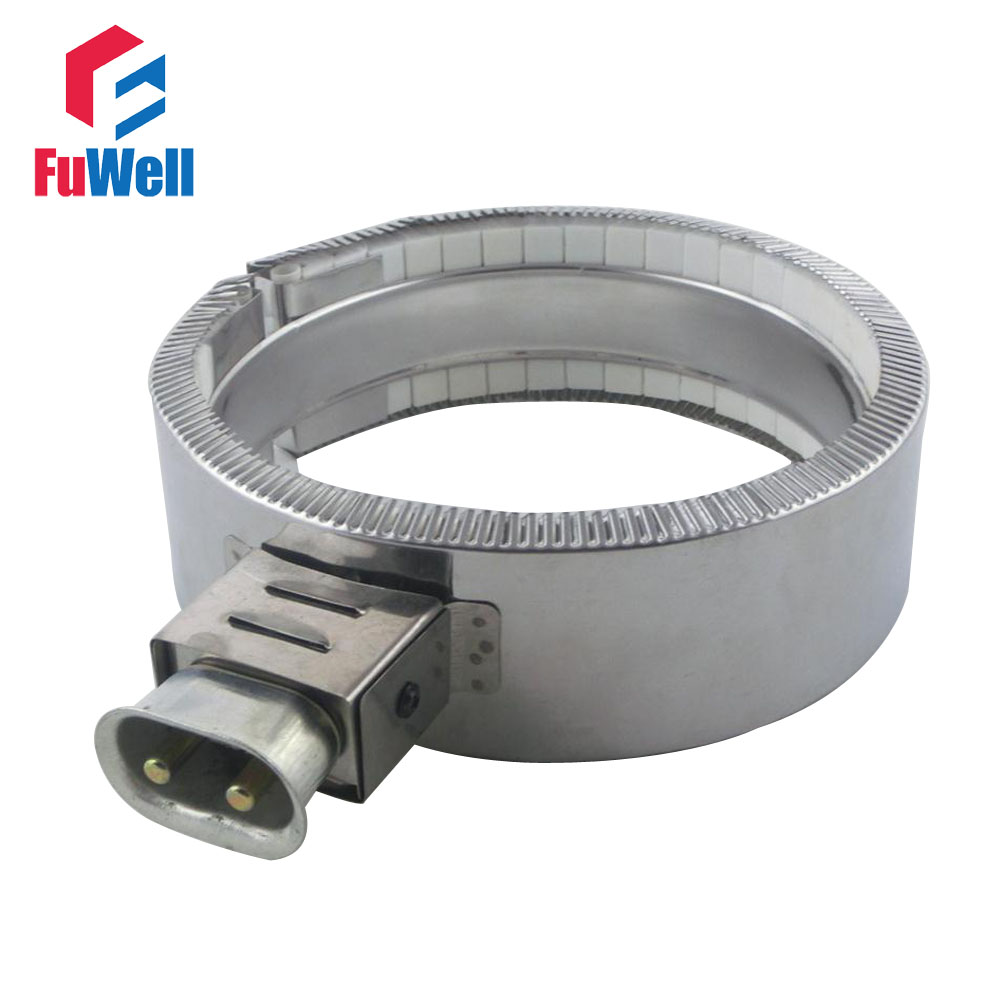 200mm Inside Dia. 50mm Band Height Ceramic Band Heater 200*50mm(D*H) 220V 1500W Heating Element<br>