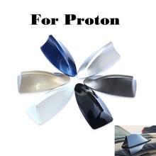 2017 New Car radio shark fin antenna signal stickers for Proton Gen-2 Inspira Perdana Persona Preve Saga Satria Waja Car styling