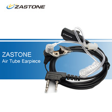 New ZASTONE Air Tube Earpiece Headset for Baofeng UV-5R UV-5RA UV-5RE Plus UV-B5 UV-B6 UV-888S Walkie Talkies Two Way Ham Radio(China)