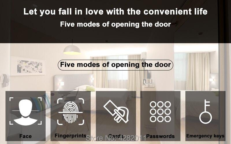 electronic door lock smart