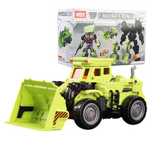 Original Box Cool Transformation KO Devastator toy g1 Action Figure Robot Car Scraper Model Deformation Engineering Kid Toy gift(China)