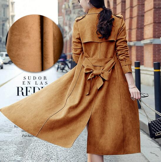 Coffee Even-sided Suede wool fabric Woolen Scarves Scarf Shirt Dressmaking Woolen Skirt materials 5 Yards H981<br>