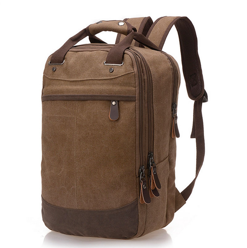 Men Women Laptop Backpack Vintage Canvas School Bags for Teenager Boys Girls Casual School Backpack mochilas for College Student<br>