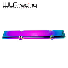 WLRING STORE- NEO Chrome Engine spark Plug Cover Wire Cover For Honda's B- series(B16/18)VTEC engines with logo WLR-YXG11NC