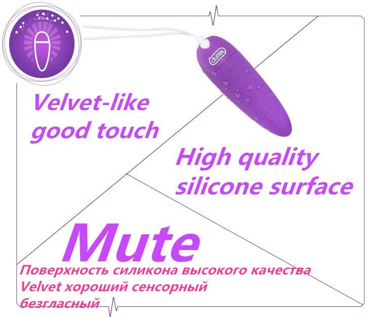 Durex Powerful Mini G-Spot Vibrator USB Charging Small Bullet Clitoral Stimulation 5 Vibration Modes Adult Sex Toys For Women 6
