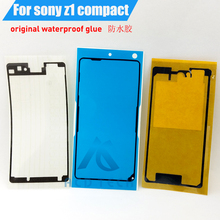3pcs/Set Front LCD Middle Frame Back Cover Waterproof Adhesive Full Set Tape Sticker For SONY Xperia Z1 Compact M51W Z1mini