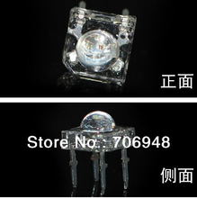 10pcs SuperFlux Piranha Water Clear 5MM RGB LED Diode For Light Bulb Common Anode(China)