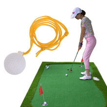 Golf Solid Swing Trainers Ball Golf Swinger Practice with String New Hot Sale(China)