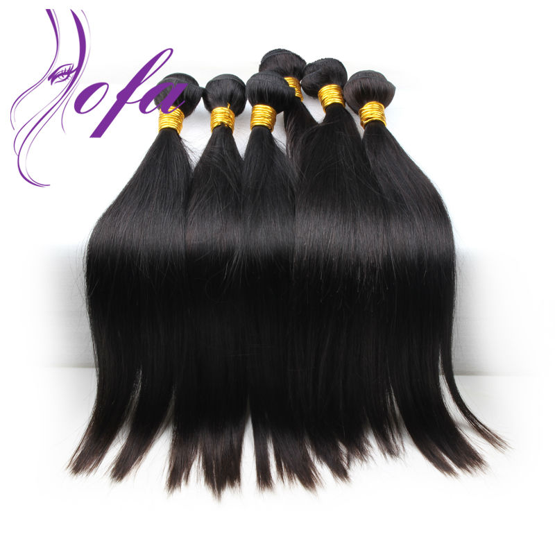 3pcs human hair extension no shedding very soft sew in weave brazilian virgin straight hair AOFA human hair extension <br><br>Aliexpress