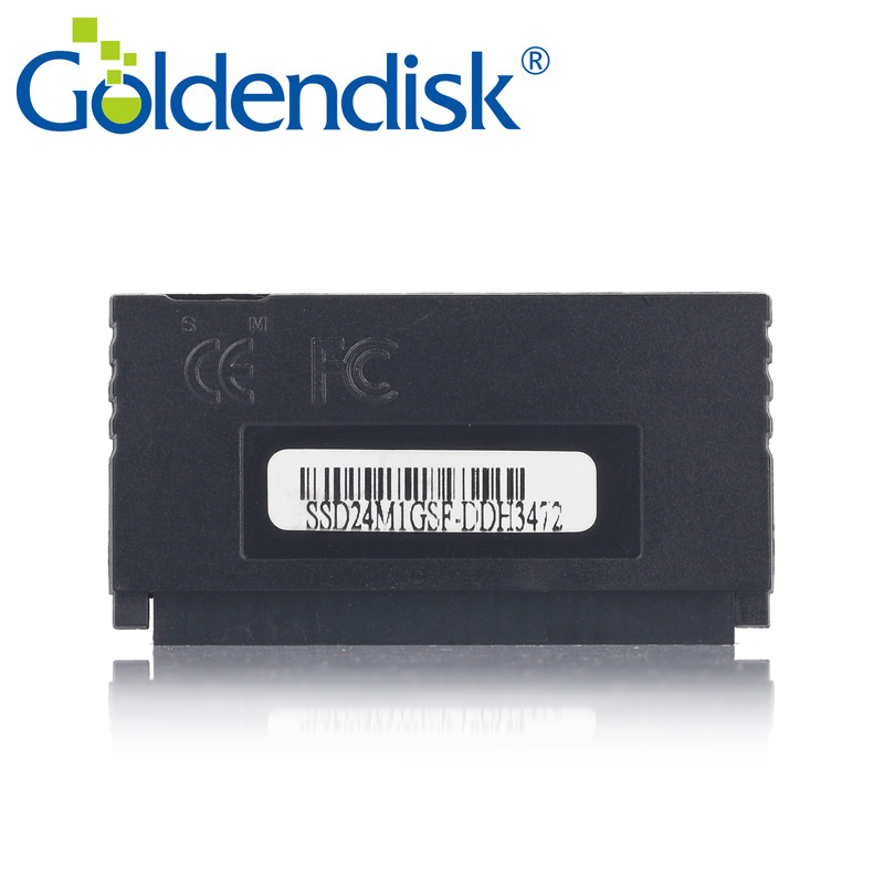 Goldendisk IDE SSD 4GB Disk on Module PATA 44PIN no need power industrial embedded system boot card internal up to 32GB(China)
