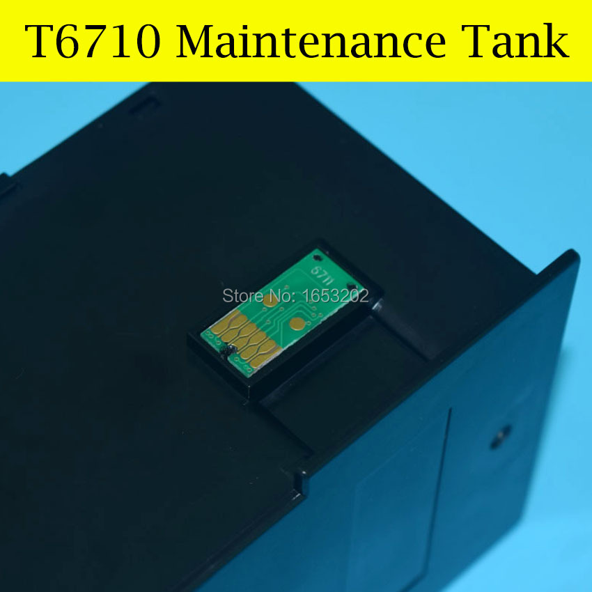 1 Piece T6710 Maintenance Tank Box For Epson 4015DN/4025DN/4515DN/4525DNF/4535DWF/4545DTWF 4095DN/4595DNF Waste Ink Tank<br><br>Aliexpress