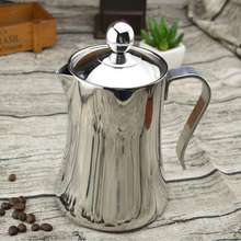 1.2L Big Capacity High Quality Stainless Steel French Press Pot Creative Coffee Tools Coffee Pot Tea Pot Free Shipping