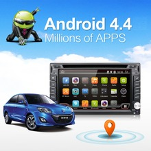 6.2 inch 2 Din Android 6.0 Car DVD Player GPS Navigation Universal In-dash Auto Radio Audio Stereo with TV Function