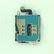 10pcs/lot  Sim Card Holder Reader Flex Cable Replacement Part For iPad 3 4 WiFi/3G free shipping