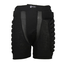 Unisex Black Shorts Protective Hip Butt Pad Ski Skate Snowboard Skating Skiing Protection Drop Resistance Roller Padded Shorts(China)
