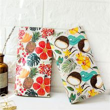 A Colorful Flowers Day Creative Traveller Journal Fashion Notebook 17.5*9.5cm DIY Agenda Free Shipping