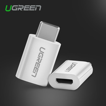 Ugreen Micro USB Adapter to Type C 3.1 USB C OTG Adapter Converter for Xiaomi 4C Lg G5 Nexus 5x 6p Oneplus 2 Macbook Chromebook