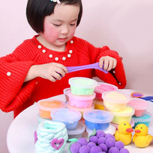 24pcs Fimo Colored Clay Polymer Plasticine Modelling Clay Air Dry Playdough Light DIY Soft Creative Handgum Toys hot sale(China)
