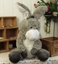 Plush doll 1pc 35cm 50cm funny donkey home decoration stuffed toy creative gift for baby