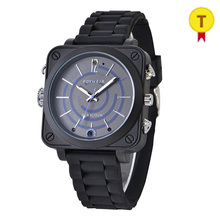 Luxury smart camera watch for business man and driving car video recorder outside photo taking best for police use(China)