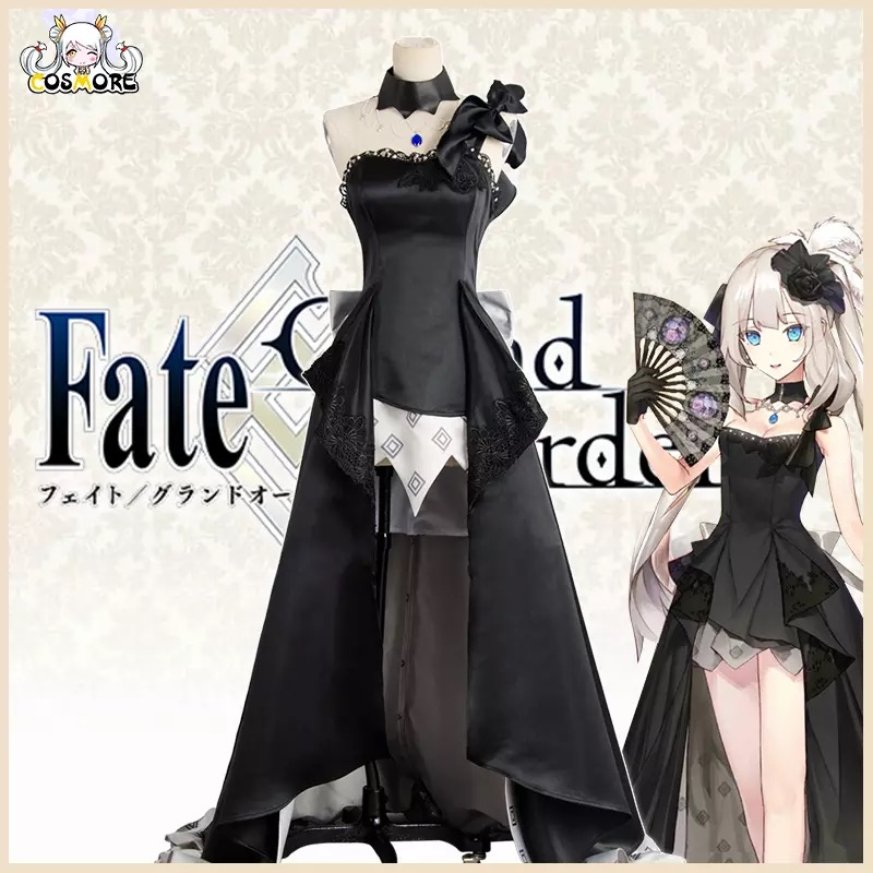 [STOCK] 2017 Fate/Grand Order Marie Antoinette 2 Anniversary Dress Highly Reductive Cosplay CostumeFor Halloween Free Shipping.