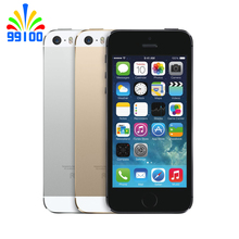 Original 64GB Apple Iphone 5S Phone Unlocked 5S iOS 1GB RAM 64GB ROM Touch ID Fingerprint excellent conditions phone(China)
