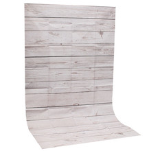 Photography Background 3x5ft Wood Grain For Studio Photo Props Thin Photographic Backdrops 90 x 150cm Brown White