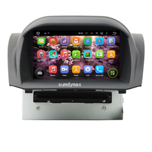 Sumdymax Android 5.1 Car Multimedia Player For FIESTO 2013-2016 with Radio Audio Mirror Link 16GB Flash Bluetooth GPS map camera