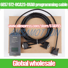 1pcs PLC download cable for Siemens S7300 400 / 6ES7 972-0CA23-0XA0 / PC-MPI + programming cable / 0CA23 RS232 to MPI adapter(China)
