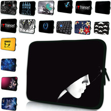Free Shipping Neoprene Zipper Soft 7 10 12 13 14 15 17 17.3 Computer Accessories Laptop Sleeve Zipper Cover Pouch Bag Soft Cases