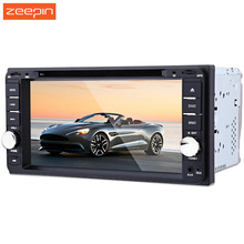 7 inch Touch Screen GPS Navigation Car DVD Player 12V 2 Din Car Radio Player 720P Bluetooth MP4 CD Video Play  For Toyota Cars