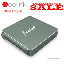 Genuine Beelink AP34 TV Box Intel Apollo N3450 Mini PC 4G/64G Bluetooth 4.0 USB 3.0 2.4+5.8G Wifi 4K 1000M Lan Windows 10