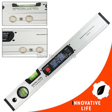 Digital Angle Finder Spirit Level Digital Level 360 Degree Range Angle Finder Spirit Level Upright with Magnets Inclinometer(China)
