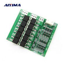 Aiyima 100A 3S 18650 Lithium Battery Protection Board Lithium Polymer Battery Charger Balanced Protection Board 11.1V