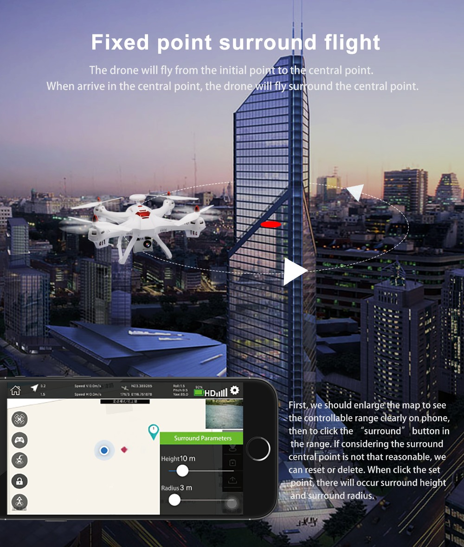 X183 Dual GPS Drone Follow me (10)