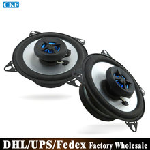 (Wholesale) 100PCS=50Pair 4 Inch Coaxial Car Speaker Bass Speaker  LB-PS1402T