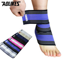 1 Piece Ankle Support Men and Women Sports Ankle Guard Ankle Protector Elastic Ankle Brace 70 cm Professional Ankle supportor(China)