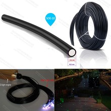 factory 10mm meter price garden lighting pole light optic fiber for underground lighting decoration